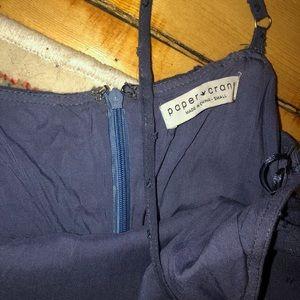Paper Crane Pants - Navy Paper Crane Jumpsuit with pockets!